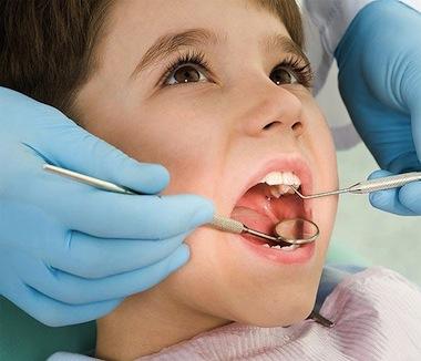 Los dientes de los niños